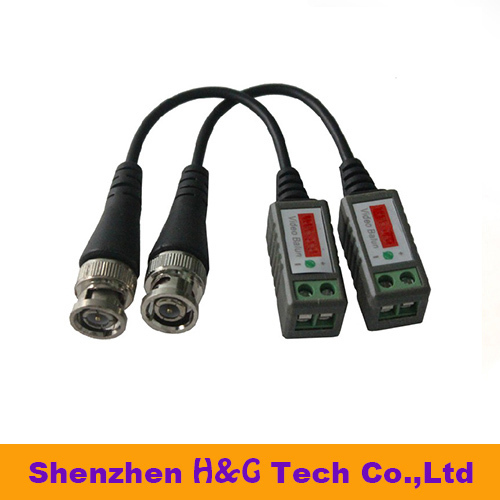 Twisted BNC CCTV Video Balun passive Transceivers UTP Balun BNC Cat5 CCTV UTP Video Balun