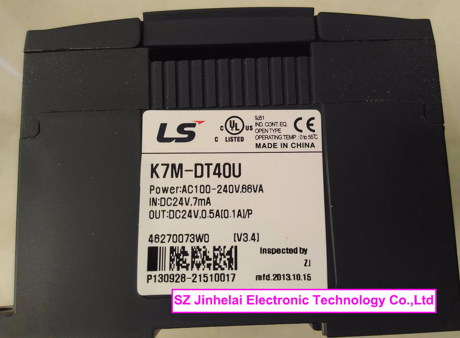 100% New and original  K7M-DT40U  LS(LG) PLC controller 100% new and original g6i d22a ls lg plc input module