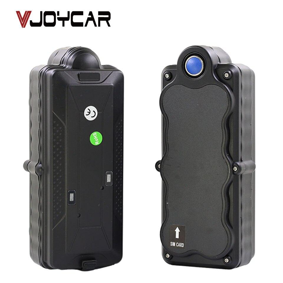 VJOYCAR TK20G China Mejor Rastreador GPS 3G WiFi 20000 mAh Batería Recargable Extraíble SD Registrador de Datos GSM Monitor de Audio de forma remota