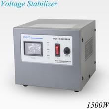 1500 Вт стабилизатор напряжения с входным напряжением 160 в-250 В и выходным напряжением 220 В бытовой автоматический стабилизированный источник питания инструмент TND1-1.5