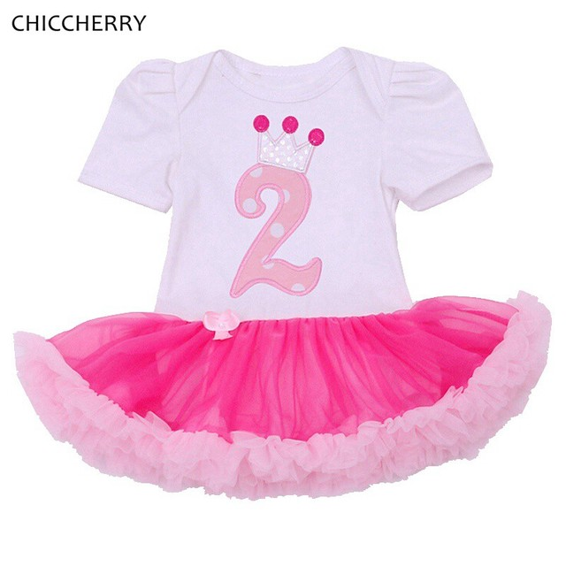 2 Years Birthday Party Dresses For Girls Clothes Summer Vestido Infantil Menina Lace Tutus Infant Princess Dress Infant-Clothing