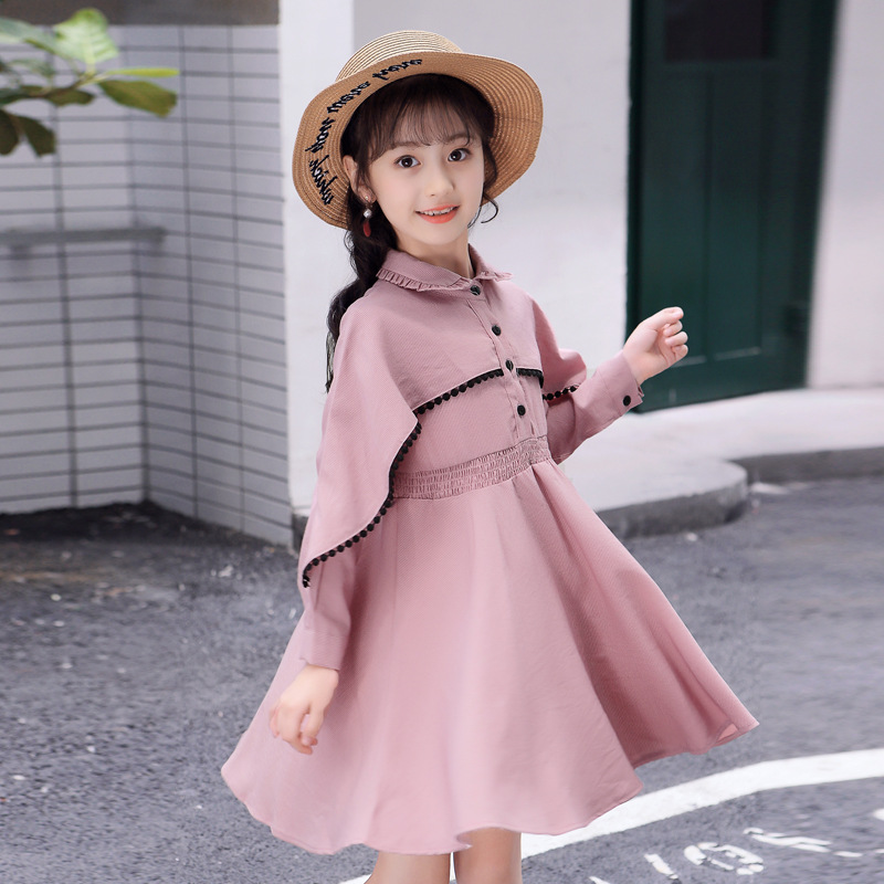 b0ecee84a4f74 Long-Sleeve Elegant Dresses For girls Princess Kids Winter New Year Costume  Party Frocks Autumn Age For 4 -14 yrs