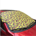 Camouflage Windshield Snow Covers Car Protection, Waterproof Thicken Car Snow Shield,Universal Sun Reflective,K0061