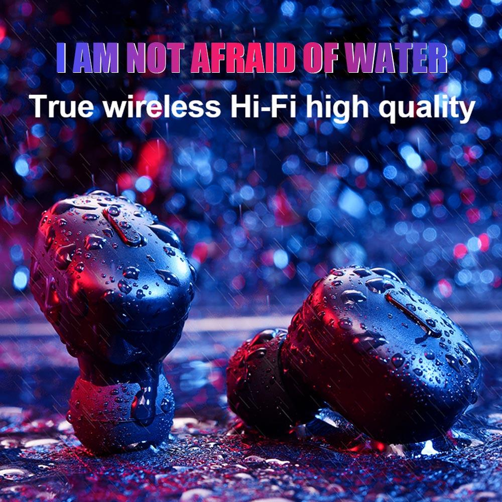 Mini Sport Wireless Earphones Bluetooth Headphone TWS 5 0 Stereo Earbuds Cordless Handsfree Headset For Phone