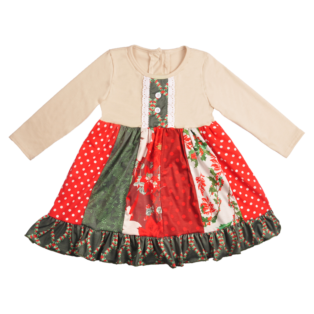 Dress Remake-Design Girl Summer Clothing Kids And Spring LYQ810-354 Headband Boutique