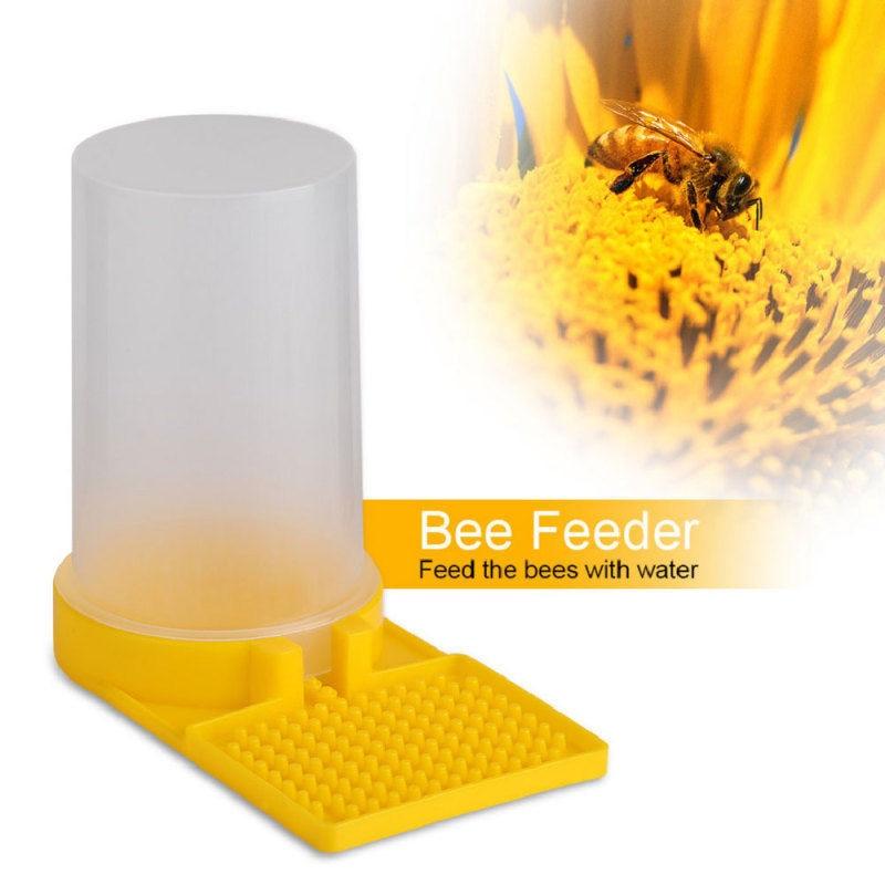 Beekeeping Tool Beehive Water Feeder Bee Drinking Nest Entrance Beekeeper Cup US