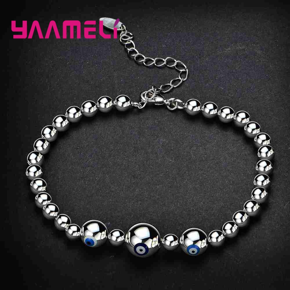 New Arrival Top Quality 925 Sterling Silver Jewelry For Women/Men Fashion Bracelet Bangles Fine Shiny Birthday Gift