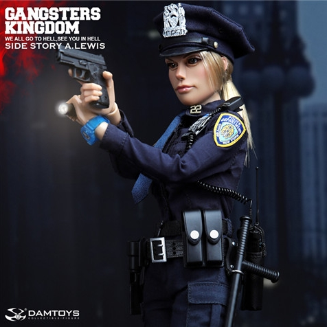 12'' GKS003 1/6 Gangsters Kingdom - SIDE STORY OFFICER A.LEWIS 12