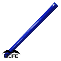 Mofe Blue 3 Plys 1 Meter ID: 4 inch 102mm Silicone Straight Hose /silicone coolant hose