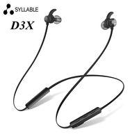 New Syllable D3X Bluetooth Earphone Wireless Earphone Magnetic Headset Ecouteur Auriculares Fone De Ouvido Kulaklik Audifonos