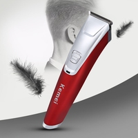Kemei Waterproof Electric Hair Clipper Razor Child Caby Men Rechargeable Shaver Hair Trimmer Cutting Machine
