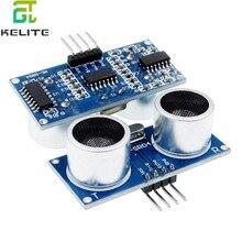 100 قطعة وحدة أشعة فوق الصوتية HC SR04 قياس المسافة محول الاستشعار عينات أفضل الأسعار