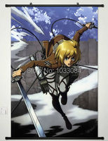 Home Decor Anime Attack on Titan Wall Scroll Poster Painting Armin Arlart