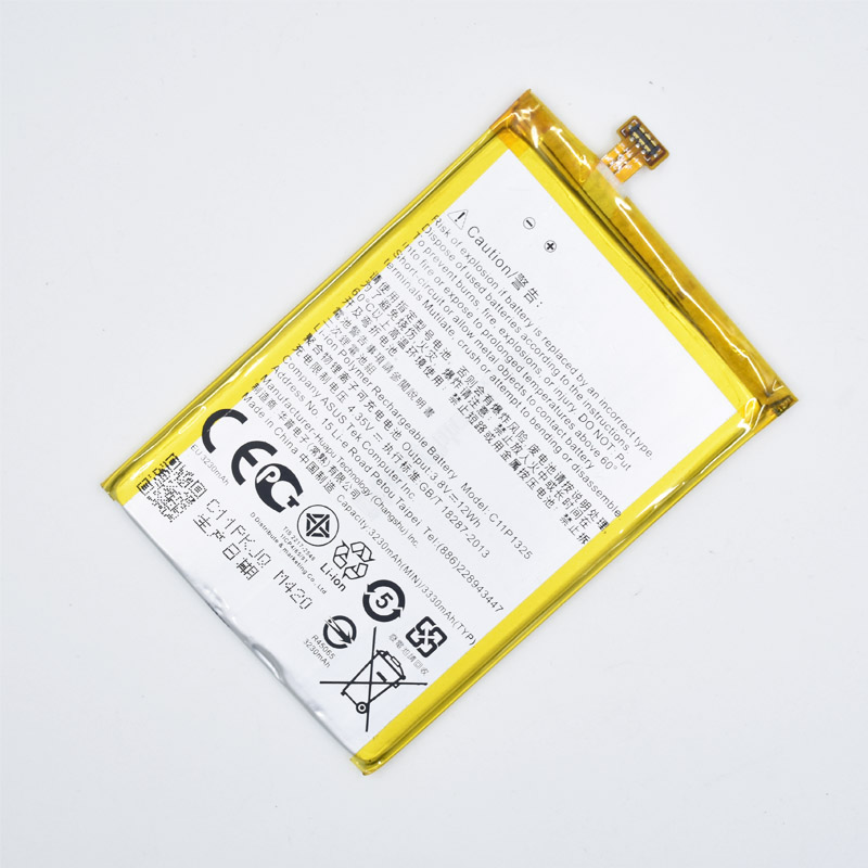 Hekiy 3230mAh C11P1325 Battery For <font><b>ASUS</b></font> ZenFone 6 ZenFone6 A600CG <font><b>T00G</b></font> A601CG Battery High Capacity Replacement Batterie image