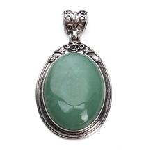 DC античный натуральный серебристый цвет камень ожерелье подвеска ювелирные изделия аксессуары создан опал камень кварц Подвеска ювелирные изделия