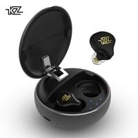 2019 KZ T1 TWS Wireless Touch Control 5.0 Bluetooth Earphones Hybrid HIFI Bass Earbuds Sport Noise Cancelling HD Headphones