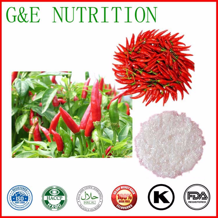 Natural chili pepper extract 99% capsaicin 100g