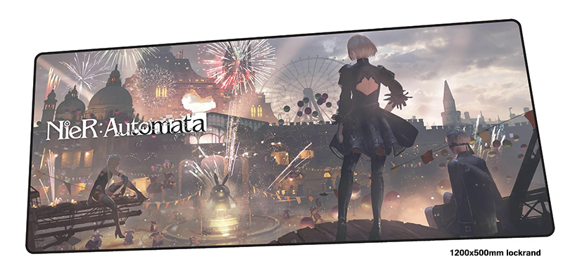 nier automata mouse pad 1200x500mm mousepads Gorgeous gaming mousepad gamer Colourful personalized mouse pads keyboard pc padnier automata mouse pad 1200x500mm mousepads Gorgeous gaming mousepad gamer Colourful personalized mouse pads keyboard pc pad