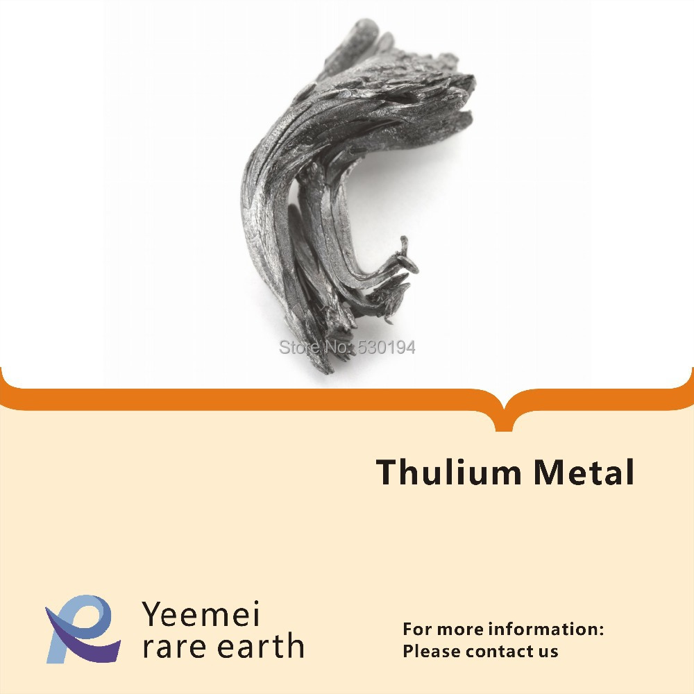 Rare earth metal -- 99.99% Thulium metal rare earth metal 99 5% ytterbium metal