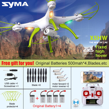 New Arrivial SYMA X5HW X5HC 6Axis 4CH RC Quadcopter Drone with HD Camera 360 Roll Helicopter Fixed High Hover WIFI Real Time Toy