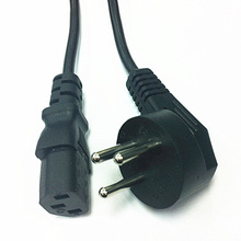 Israel Power Cable Plug Universal 3 Prong Cord 1.5M  For Rice Cooker 2PCS