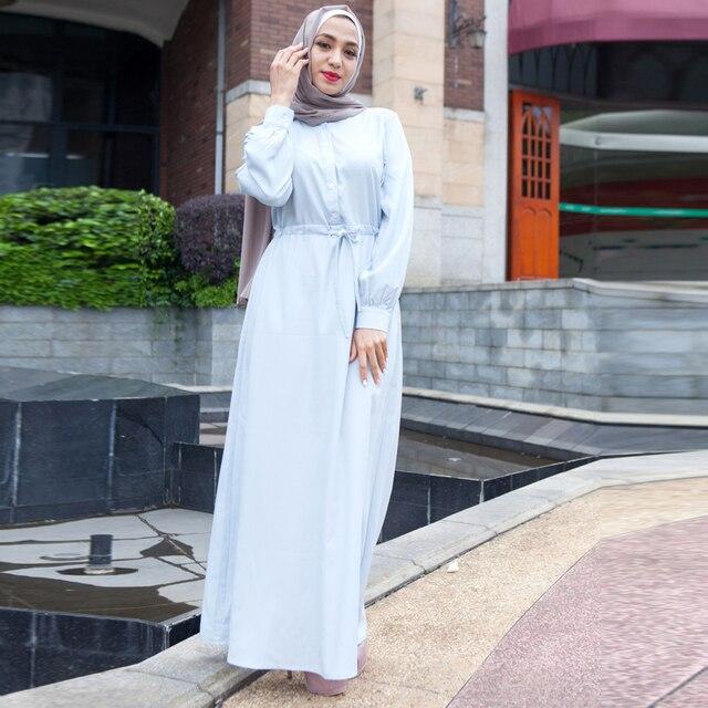 5964cd3d26eb8 Abaya Dubaï Robes 2019 Longue Turquie Marocain Caftan Musulman Hijab Robe  Abayas Pour Femmes Caftan Elbise