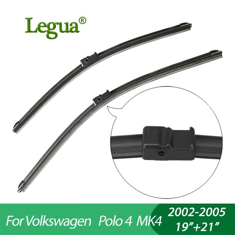Legua carro Limpador winscreen blades para Volkswagen Polo 4 MK4 (2002-2005), 19