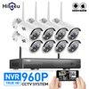 WIFI CCTV System 8ch HD Wireless NVR Kits Bullet 1 3MP IP Camera IR CUT CCTV