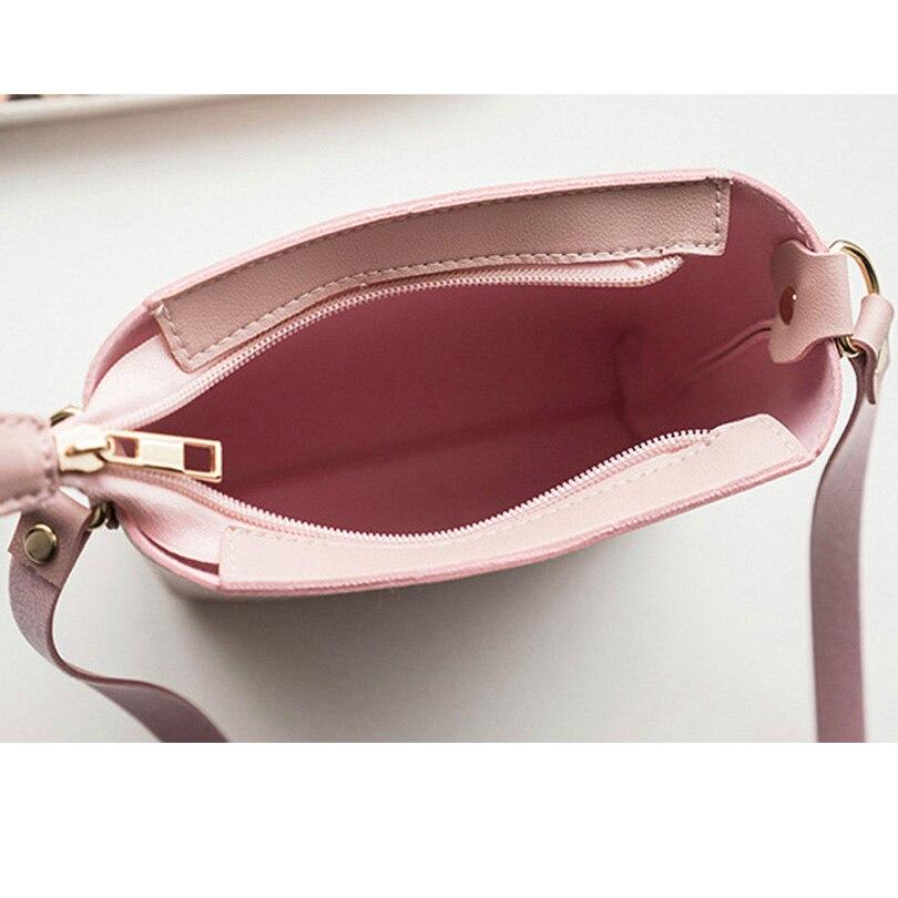 9d58b8180f3c 2019 модная женская однотонная сумка на молнии, сумка через плечо, сумка-мессенджер,  маленькая сумка для монет в Корейском стиле, Bolsas Feminina Saco ~ Top ...