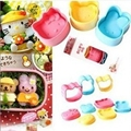 DIY sushi rice mold tool suite kitty cat rabbits fitted baby panda 3 Favorites