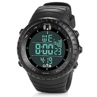 OTS military camouflage silicone waterproof watch LED Montre militaire de silicone de Camo High quality luminous