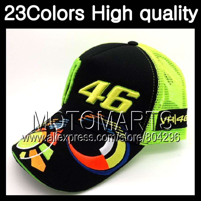 Rossi VR46 Baseball Cap MOTO GP 46 Sun moon green Motorcycle 3D Embroidered Racing Cap Men Women Snapback Caps For YAMAHA Hats casquette polo hats for men black baseball caps golf hats outdoor gorras hip hop bone casual cotton sun dad hat snapback