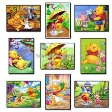 5D Diamond Painting Full Drill Resin Rhinestones 3D Diamond Embroidery Winnie the Pooh Friends Diy Cross Stitch Kits Mosaic Gift грузовик зис 151 3541п