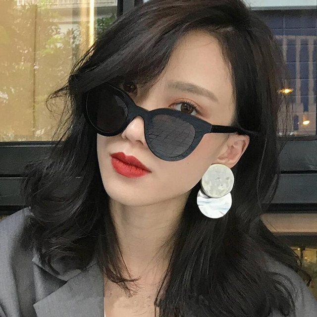 New Arrive Fashion Cat Eye Sunglasses Women Brand Designer Retro Female Sun Glasses oculos de sol feminino UV400