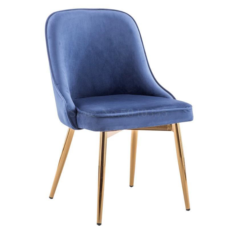 Скандинавский светильник роскошный стул для столовой сетка красный стул Макияж дизайн ногтей Металл домашний спальня стул Кофейня стул - Цвет: VIP 2