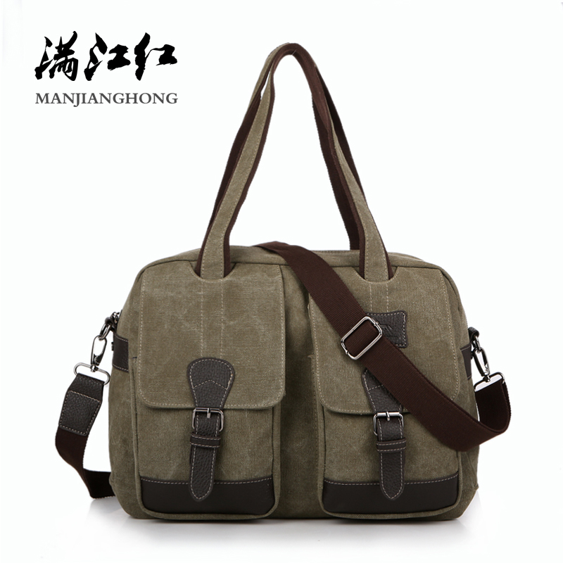 Vintage Canvas Men Shoulder Bag Large Capacity Casual Messenger Crossbody Bags For Men Leisure Male Handbag Tote Travel Bag 1116 цена