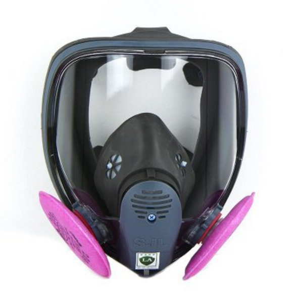SJL full face mask with 2091 Particulate Filter P100 filter For 6800 Gas Mask Full Facepiece Respirator Mask free shipping
