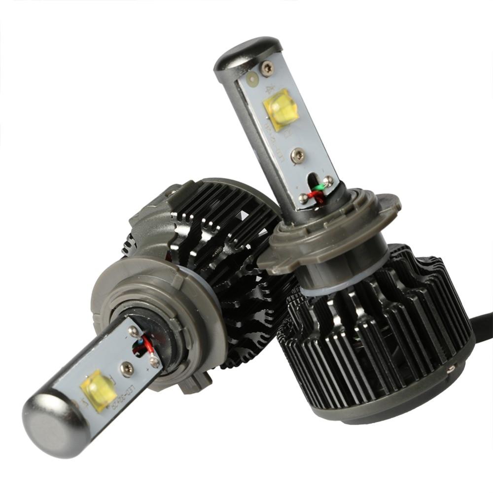 ФОТО Auto Car H7 Led Headlight Lamp Bulb 9005 9006 H8 H9 H11 Automobiles Light For Toyota Nissian