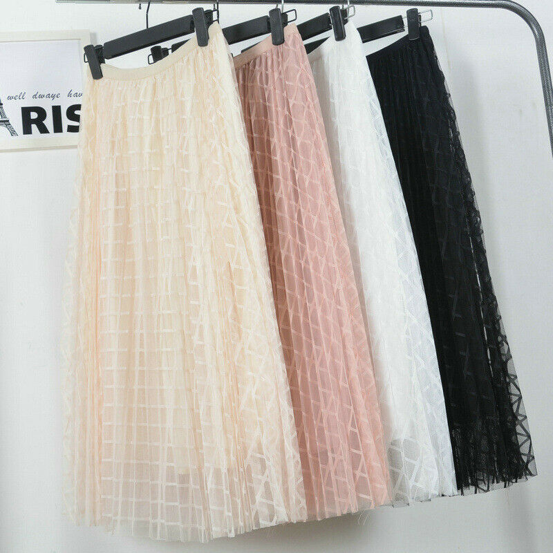 39d14fc7bfac5 3-Layers-2019-Spring-Summer-Female-Plaid-Tulle-Skirt-Women -Midi-Pleated-tutu-Party-A-line.jpg