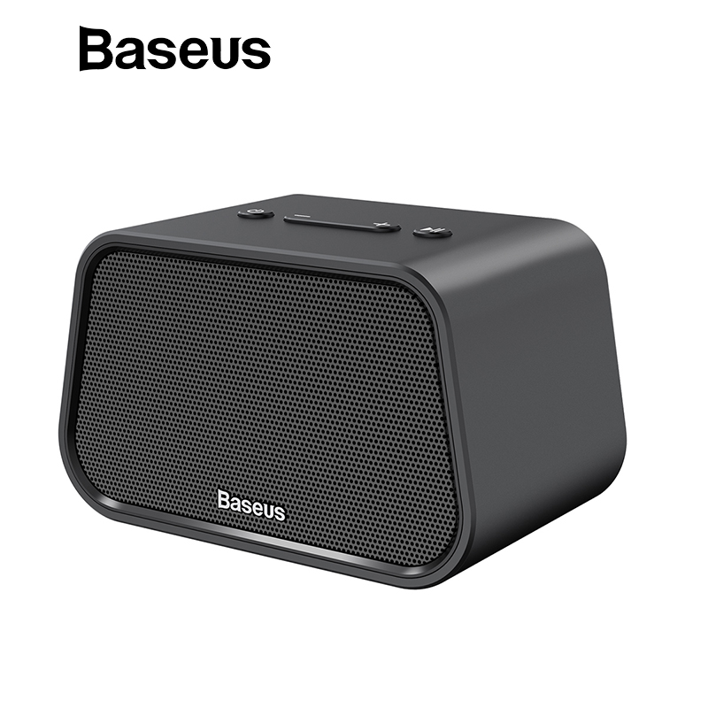 Baseus Bluetooth Lautsprecher Mini Tragbare Outdoor Wireless Lautsprecher 3D stereo Musik surround Player altavoz bluetooth haut parleur
