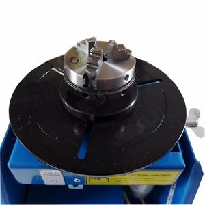 Image 3 - 110V Mini Welding Positioner BY 10 Rotary Welding Table 10KG With K01 63 Lathe Chuck