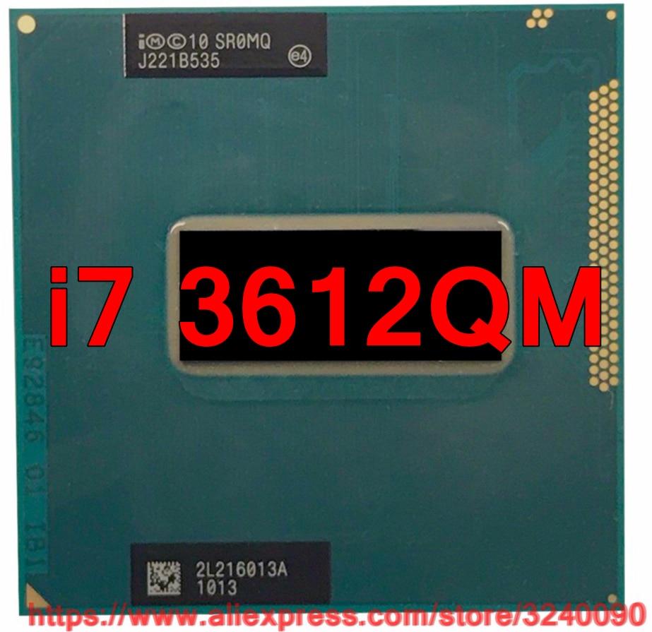 Original lntel Core i7 3612qm SR0MQ CPU 6M Cache 2 1GHz 3 1GHz Quad Core i7