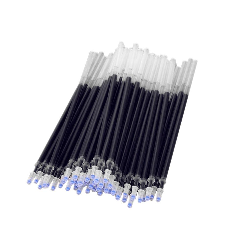 Hot 20Pcs Red Black Blue <font><b>Gel</b></font> <font><b>Pen</b></font> <font><b>Refills</b></font> Ink <font><b>Needle</b></font> Tubing 0.5mm Penpoint Office School Supplies New for Writing image
