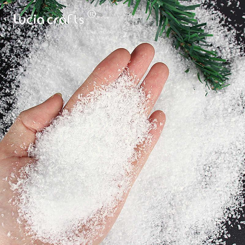 10 x  Fake Snow Fluff Super saugfähige Dekoration für Weihnachten Hoch K TJF