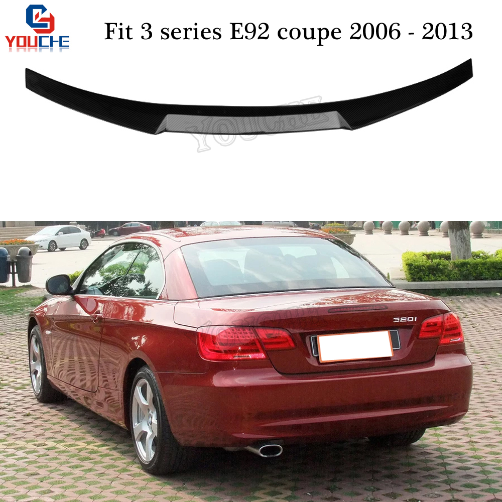 E92 Carbon Fiber Rear Spoiler Wing For BMW 3 Series E92 2
