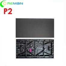 Aliexpress p2 led מודול 64x128 נקודות, pantalla led p2 128mm x 256mm, זול led מטריקס p2 מלא צבע מודול hub75 קלט