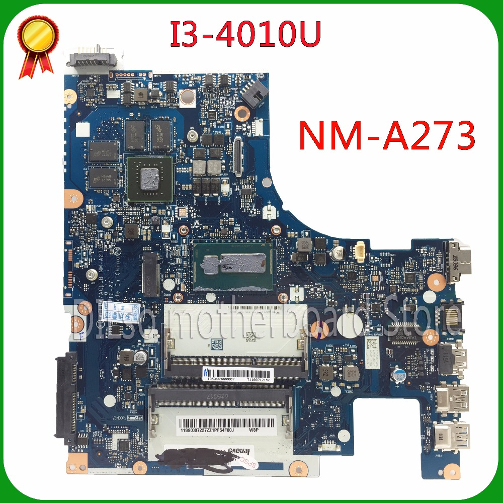 SHUOHU G50-70M For Lenovo G50-70 Z50-70 G50-70M i3 motherboard ACLUA/ACLUB NM-A273 Rev1.0 PM 100% tested  free shipping for lenovo g50 70 i5 motherboard aclua aclub nm a273 rev1 0 840m 2gb video card with graphics card 100
