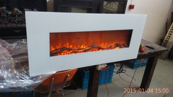 Camino Elettrico Bianco : Bianco g 01 2 appeso arredamento fiamma camino elettrico in bianco g