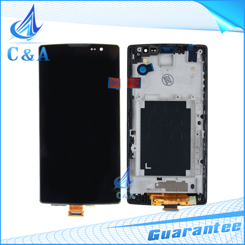 10 pcs free DHL EMS shipping for LG Spirit H440 C70 H442 H420 H422 lcd screen display with touch digitizer with frame assembly