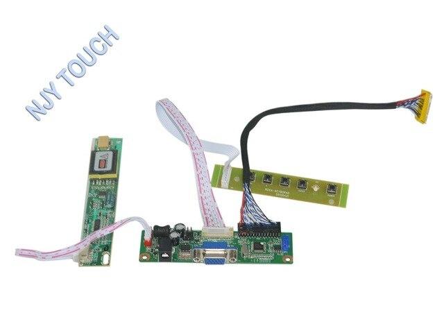 VGA Kit placa Controladora LCD De 15.4 pulgadas 1680x1050 CCFL LP154WE2 LP154WE3-TLA3 LVDS Placa de Video con Teclado de $ NUMBER TECLAS